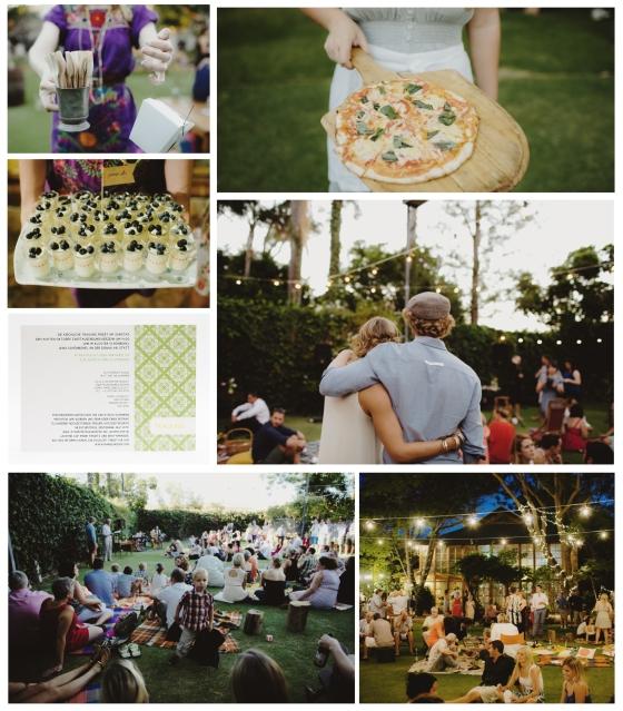 Inspirationboard Hochzeit